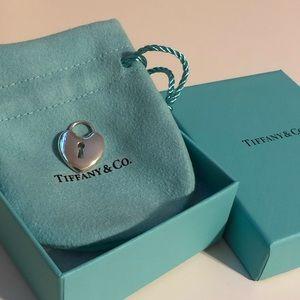Tiffany & Co Heart Lock Pendant